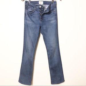 McGuire medium wash straight jeans size 26